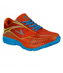 Vostro Orange Sports Shoes Electra for Men - VSS0006